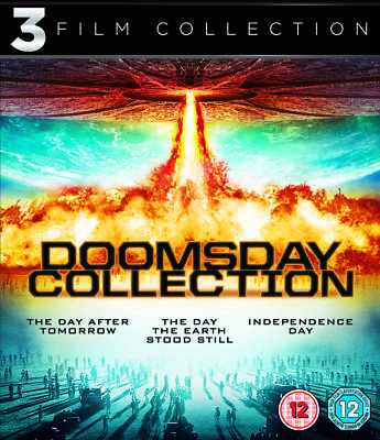 Day After Tomorrow/Day The Earth Stood Still/Independence Day Blu-Ray