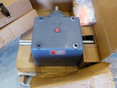 Browning Bevel Gear Box Speed Reducer 2:1 Ratio  15HB1-LR20-A