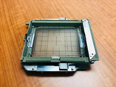 SINAR NORMA REAR 4x5 FRAME with ground glass authentic SINAR NORMA