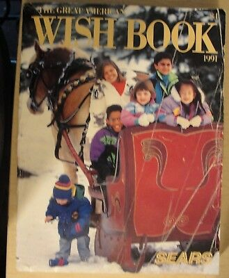 vintage sears christmas catalog the great american wish book 1991 - Sears Christmas Catalog