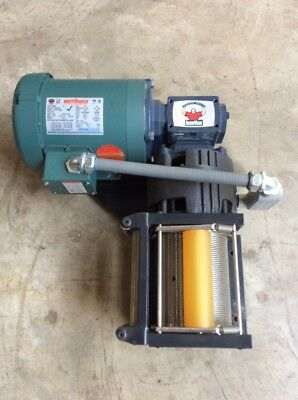 Winch with Ironman Speed Reducer, Leeson Wattsaver 3 Phase Motor Dynacorp 30429