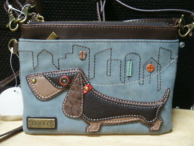 Dachshund 3-In-1 Convertible Purse By Chala    New With Tag
