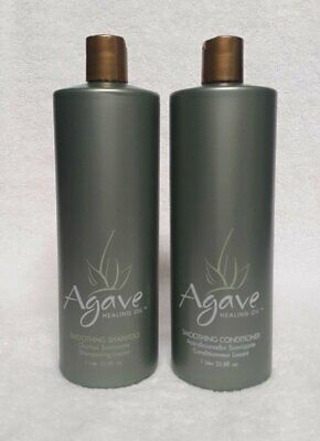 Bio Ionic Agave Smoothing Shampoo & conditioner 33.8 oz DUO