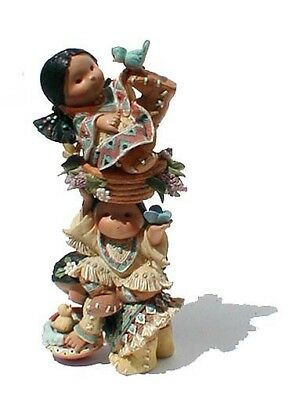 Marked ENESCO ©1995 Totem Figurine