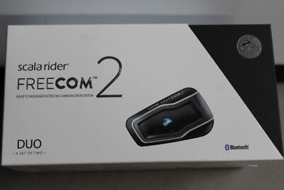 Cardo Scala Rider Freecom 2 Duo Bluetooth Comm System Dual