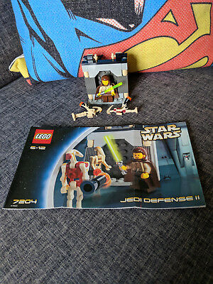 Lego Star Wars Jedi Defense Ii Set 7204 Complete With Instructions