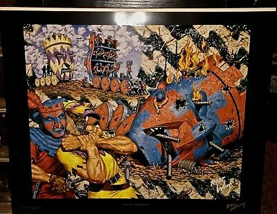 "Robert Williams Robert Bane Limited Edition ""Siege Of The Masquers"" Lithograph"