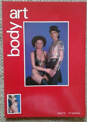"""Body Art Magazine No 12"",  Tattooing, Piercing, Body Modification Journal."