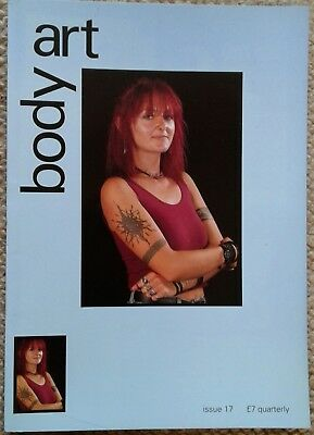 """Body Art Magazine No 17"", Tattooing, Piercing, Body Modification Journal."