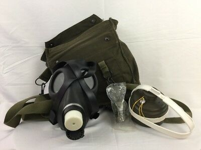 Israeli Gas Mask w/sealed Filter And Military Bag