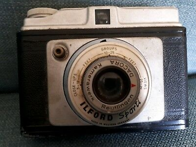 ilford sporti camera for parts. Not tested