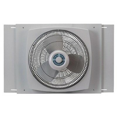Window Fan 16 Inch Whole House Reversible Air Flow 3 Speed Ventilation Exhaust