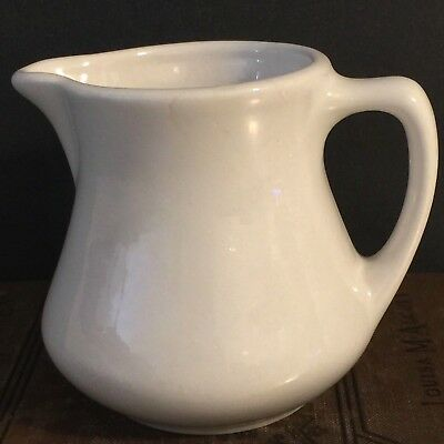 Buffalo China Creamer Syrup Pitcher White Restaurant Ware Replacement Made USA