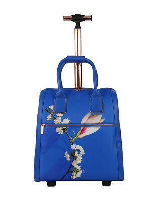 6381fd28c TED BAKER blue Callie HARMONY floral travel bag hand luggage suitcase BNWT  2018