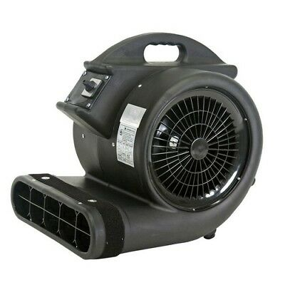 Blower Fan Air Mover 3450 CFM 3 Speed Carpet Floor Dryer 3/4 HP High Velocity