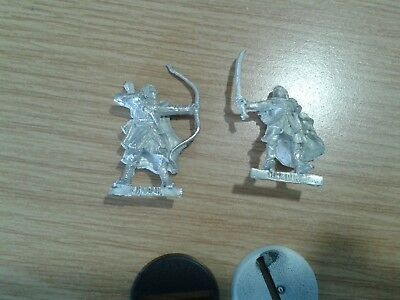 LOTR Lord Of The Rings HALDIR WITH BOW AND WITH SWORD metal OOP