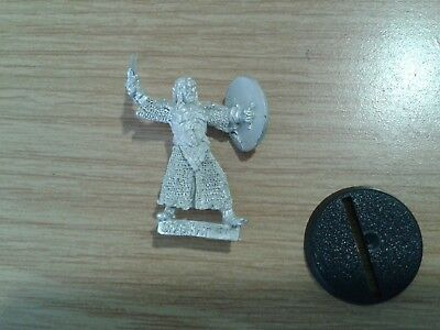 LOTR Lord Of The Rings SHAGRAT WITH SHIELD metal OOP