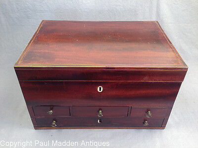 Antique English Gentleman's Dressing Case by Bayley