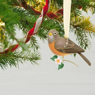 The Beauty of Birds Lady Robin 2018 Hallmark Ornament Limited Edition
