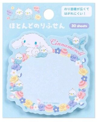 Cinnamoroll Sticky Notes SANRIO Anime Japanese Bookmark Pads Notes Cute Kawaii