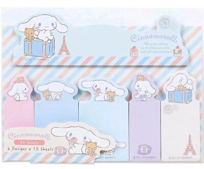 01pc Cinnamoroll Sticky Notes SANRIO Anime Japanese Bookmark Pads Notes Cute