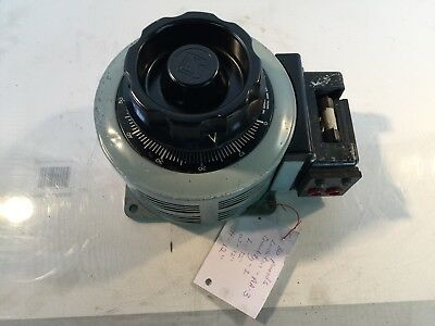Superior Electric Powerstat Variable Autotransformer Type 136 Spec BP57515 Ser 1