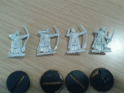 LOTR Lord Of The Rings LAST ALLIANCE - GONDORIAN BOWMEN  metal