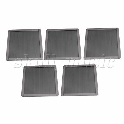 5 Pieces PC Computer Chassis Fan Magnetic Dust-proof Filter Mesh 14cm in Width