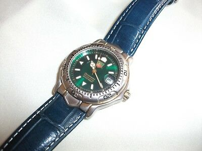 alte Armbanduhr  TAG-HEUER Automatic