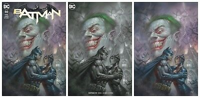 BATMAN #50 Parrillo Virgin Variant Cover Set DC Rebirth 1st Print New Unread NM