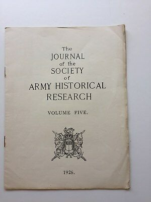 Journal of the Society for Army Historical Research Index 1926 regimental ref