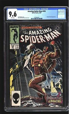 Amazing Spider-Man 293 CGC 9.6 NM+ Kraven Mike Zeck cover Marvel 1987