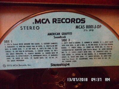 Rarität Original Tape von 1973 MCA Records American Graffiti