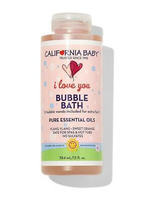 California Baby I Love You Bubble Bath 13oz