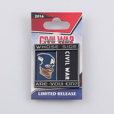 Disney Marvel Captain America Civil War Opening Whose Side Are You On pin 115007