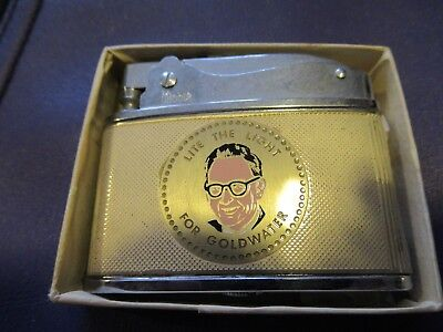 barry goldwater flat ad lighter