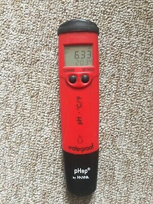 pHep by HANNA - Pocket pH Meter and Temperature - HI98128