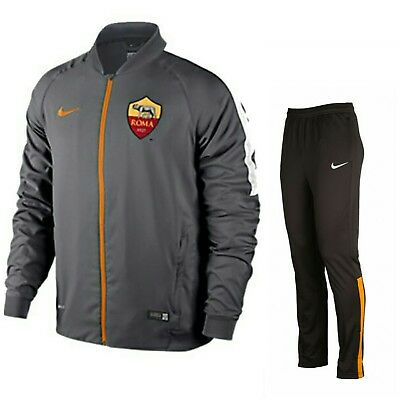 86597e393d2 Nike AS ROMA FOOTBALL CLUB TRAINING SIDELINE TRACKSUIT SIZE (13-15 YRS )