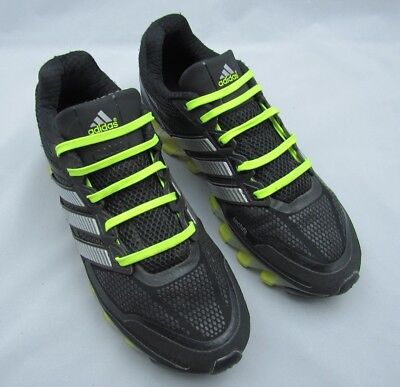 buy popular 62b8b 64aed Adidas Mens Springblade Shoes Size 7, Athletic, Techfit, Green, Black,  Silver