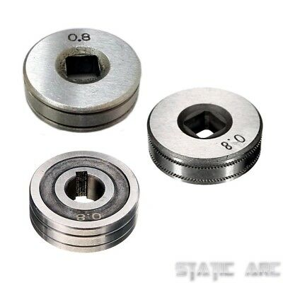 MIG WIRE FEED ROLLER DRIVE WHEEL ROLL V KNURLED GROOVE WELDER PARTS 25/30mm DIA.