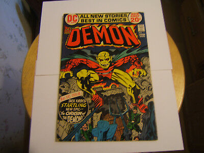 The Demon #1 / Fine/VF / Origin 1st App of Demon / Jack Kirby / Bronze Age/ 1972
