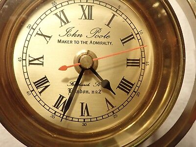 Marine Deck Watch John Poole Maker to the Admiralty very rare!!!