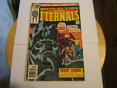 The Eternals #1 / F/VF / Origin 1st App of.. / Jack Kirby / Bronze Age / 1976