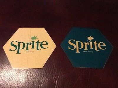 Coca-Cola Sprite Decals. Very Unusual & Extremely Rare set. Free shipping.