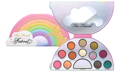 TOO FACED LIFE'S A FESTIVAL EYE SHADOW PALETTE, Brand NEW