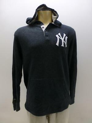 new style f07a7 7af56 MITCHELL & NESS Cooperstown Coll New York Yankees hoodie sweatshirt mens  Large