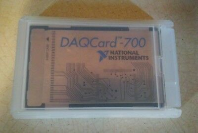National Instruments NI DAQCard-700 NI DAQ Card PCMCIA