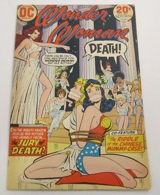 Wonder Woman #207 FN/VF 7.0 Nubia App. Bondage Cover DC Bronze Age Comic 1973