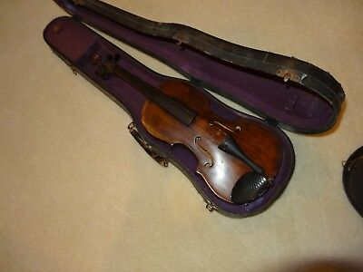 Strange Old Antique Violin