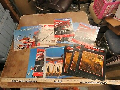 30 Vintage Kewanee, disc chisel, field cultivator, etc brochure lot